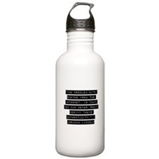 The Problem With Quotes Water Bottle