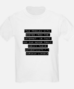 The Problem With Quotes T-Shirt