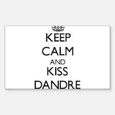 Keep Calm and Kiss Dandre Decal