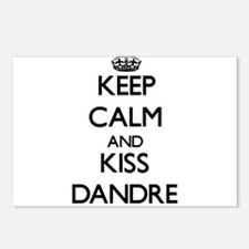 Keep Calm and Kiss Dandre Postcards (Package of 8)