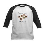 Fueled by Muffins Kids Baseball Jersey