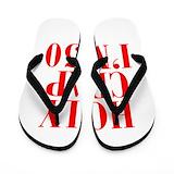 50 birthday Flip Flops
