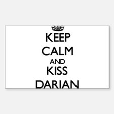 Keep Calm and Kiss Darian Decal