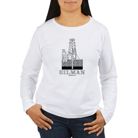 Oilman Women's Long Sleeve T-Shirt