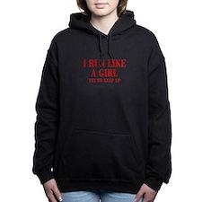 I-run-like-a-girl bod Women's Hooded Sweatshirt