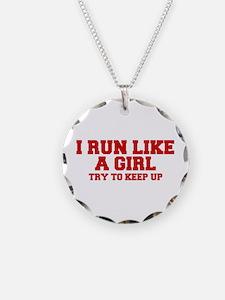 I-run-like-a-girl-FRESH Necklace