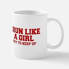 I-run-like-a-girl-FRESH Mugs