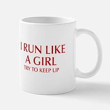 I-run-like-a-girl-OPT Mugs