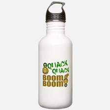 Quack Quack Boom Boom Water Bottle
