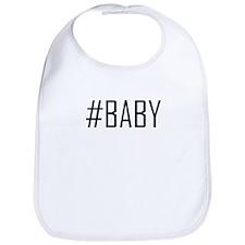 Hashtag Baby Bib