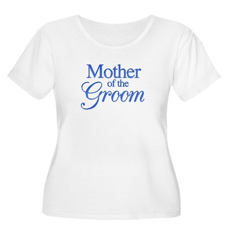 Mother of the Groom (blue) Women's Plus Size Scoop