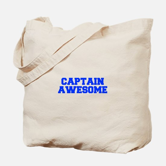 captain-awesome-FRESH-BLUE Tote Bag
