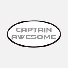 captain-awesome-BAT-GRAY Patches