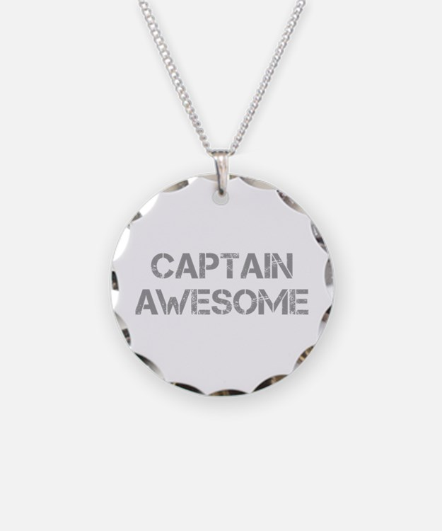captain-awesome-CAP-GRAY Necklace