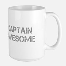 captain-awesome-CAP-GRAY Mugs