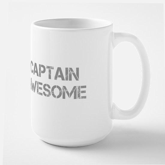 captain-awesome-CAP-GRAY Mugs