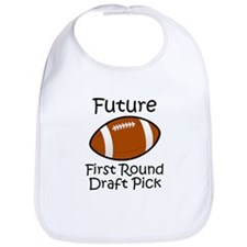 Future First Round Draft Pick Bib