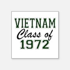 Vietnam Class of 1972 Sticker