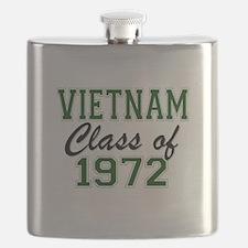 Vietnam Class of 1972 Flask