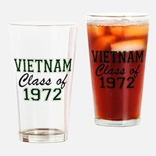 Vietnam Class of 1972 Drinking Glass