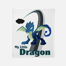 My Little Dragon Throw Blanket