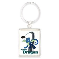 My Little Dragon Portrait Keychain