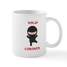 Ninja Coroner Mug