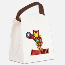 Atomic Kitty Canvas Lunch Bag