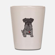 Spunk - Schnauzer Shot Glass