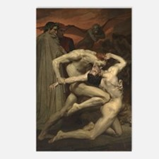 Dante and Virgil in Hell Postcards (Package of 8)