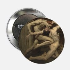 """Dante and Virgil in Hell 2.25"""" Button"""