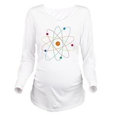 Atom Long Sleeve Maternity T-Shirt