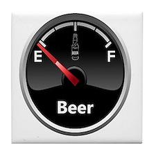 Running low on Beer Tile Coaster