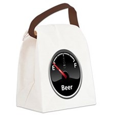 Running low on Beer Canvas Lunch Bag