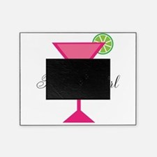 Birthday Girl Pink Cocktail Picture Frame