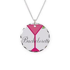 Bachelorette Pink Cocktail Necklace