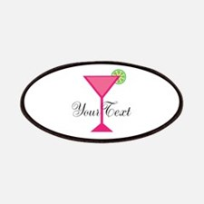 Personalizable Pink Cocktail Patches