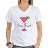 Monogram Womens V-Neck T-shirts
