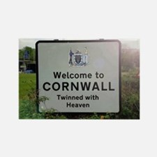 Welcome to Cornwall Rectangle Magnet