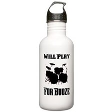 Will Play Drums For Bo Water Bottle