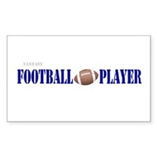 Fantasy Football Player Rectangle Decal