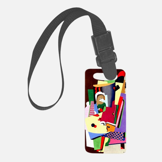 Georges Valmier - The Piano Less Luggage Tag