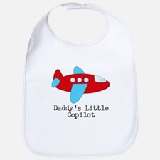 Daddys Little Copilot Bib