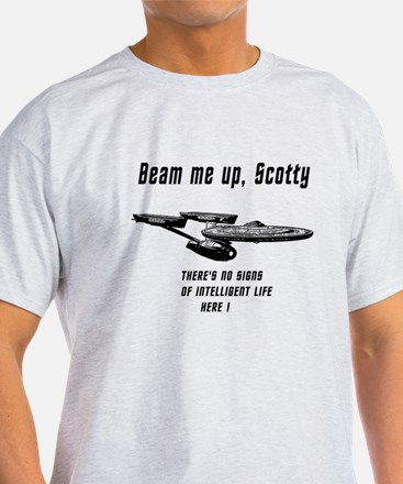 Beam me up Scotty theres no signs of intelleigent