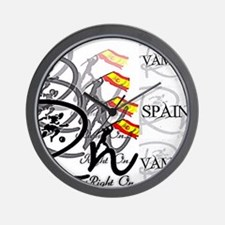 RaightOn Spain Wall Clock