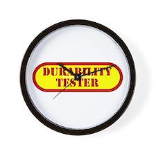 Durability Tester Wall Clock