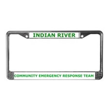 Indian River Cert License Plate Frame