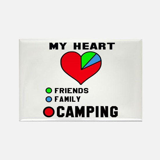 My Heart Friends, Fami Rectangle Magnet (100 pack)