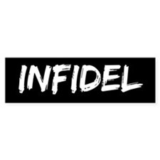 Infidel Bumper Car Sticker