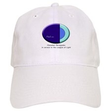 League Of Light Pleiadian Symbol White Baseball Cap